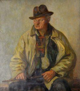 Wojciech Fangor, Portret Felicjana Kowarskiego, zbiory MASP